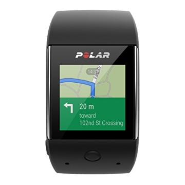 POLAR Smartwatch M600 - Schwarz/Black - M/L - inkl. Bluetooth Headset - 2