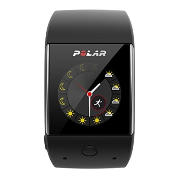 POLAR Smartwatch M600 - Schwarz/Black - M/L - inkl. Bluetooth Headset - 5