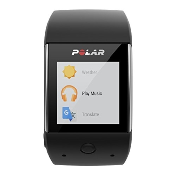 POLAR Smartwatch M600 - Schwarz/Black - M/L - inkl. Bluetooth Headset - 6